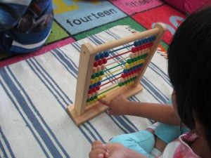 abacus montessori job one kid