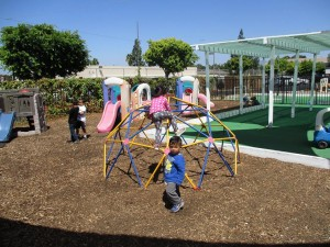 kids on play structures 3